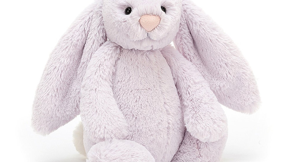 Bashful Lavender Bunny Medium