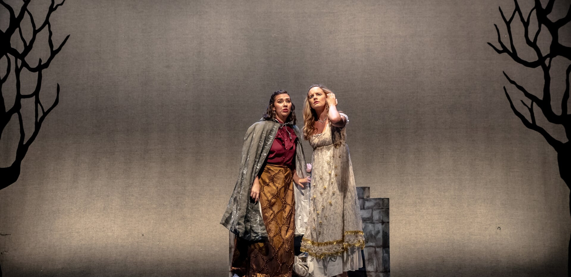Voices from the tower: Princess Maleiene and her handmaiden Aleta