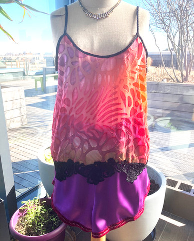 Front camisole