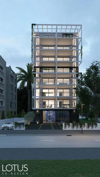 הדמיית ערב - הדמיה לבניין קומות