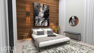 הדמיית פנים לחדר שינה