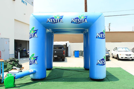 10x10 Inflatable cooling misting tent Nestea