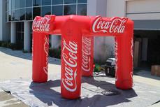 10x10 Custom inflatable misting tent Coca-Cola