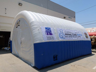Carpa inflable Animal Care