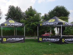 Carpas 3x3 con Logos KRBO