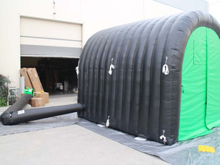 Carpa Inflable Tipo Tunel