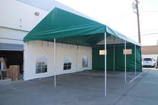 20x30 custom gable roof frame tent Long Beach Cert