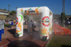 10x10 Inflatable cooling misting tent Robeks