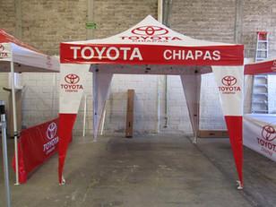 Carpa Plegable 3x3 Toyota
