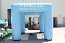 10x10 Inflatable cooling misting tent Pardee