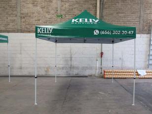 Carpa Publicitaria 3x3 Kelly