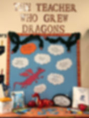 Teacher display Kate FW 5Dragons Airedal