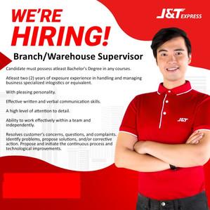 J & T Job Hiring
