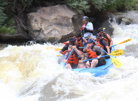 Team IDeA - Whitewater Rafting