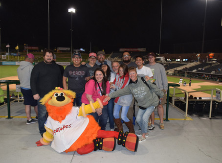 2019 Annual Isotope Baseball Game