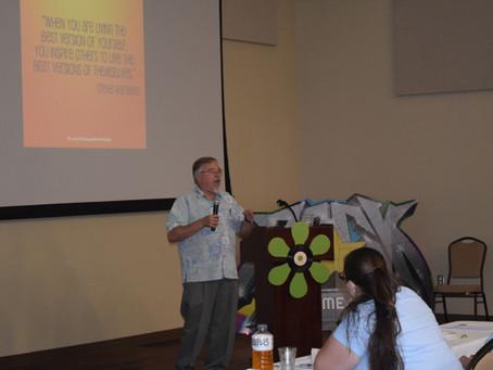 Bob Hall speaks at Weststates Conference 2018