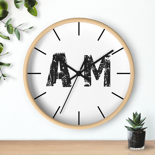 AM Supporters Wall clock