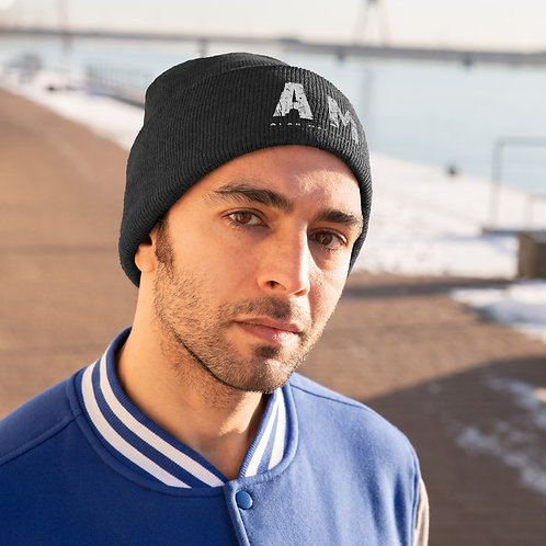 AM supporters Knitted Beanie