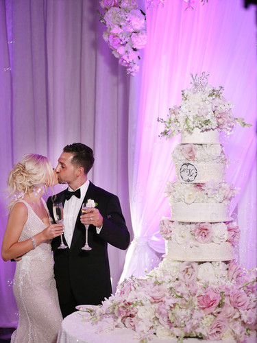 Luxury wedding at the Boca Resort Hotel