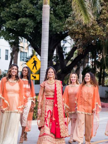 Multicultural wedding in Miami