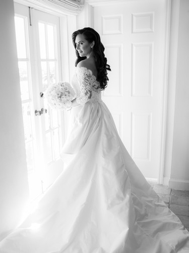 A romantic wedding in Coral Gables