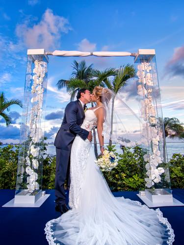 Miami Luxury bride celebration