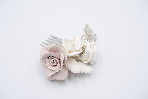 Rose Cluster Bridal Hair Comb
