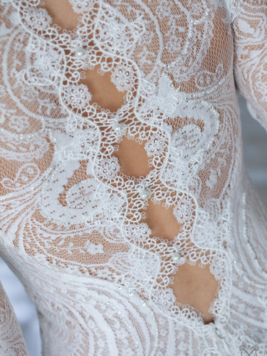 Swoon-worthy edding dress details