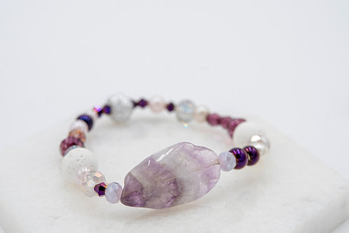 Purple Amethyst Bracelet