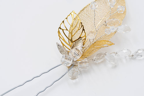 Kate Gold Leaf Hair Pin