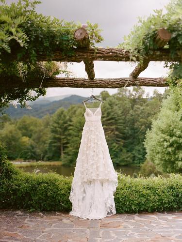 A mountain wedding in North Carolina