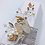 Thumbnail: Crystal quartz and Pearl Hair comb