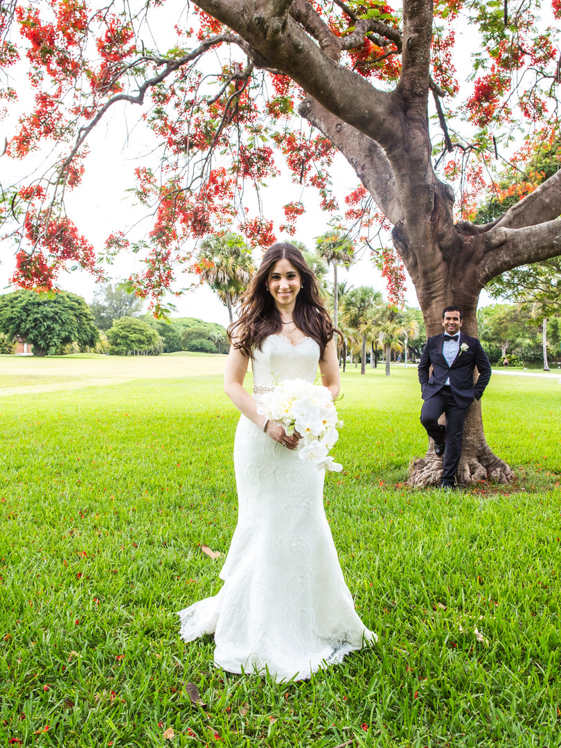 A beautiful multicultural wedding in Miami.