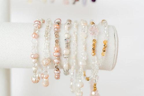 Blush Crystal Bracelet