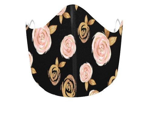 Rose Gold on Black