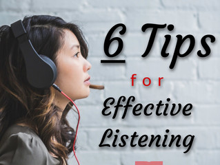 6 Tips for Effective Listening