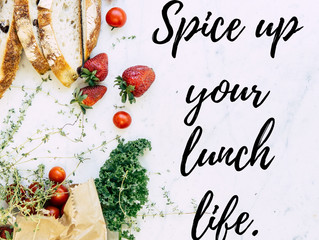 Spice up your lunch life