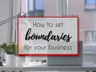 What Are Your Non-Negotiables? How To Set Boundaries For Your Business