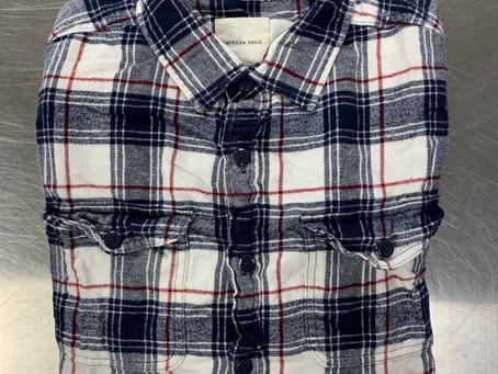 LOST & FOUND | Plaid Button-down Shirt