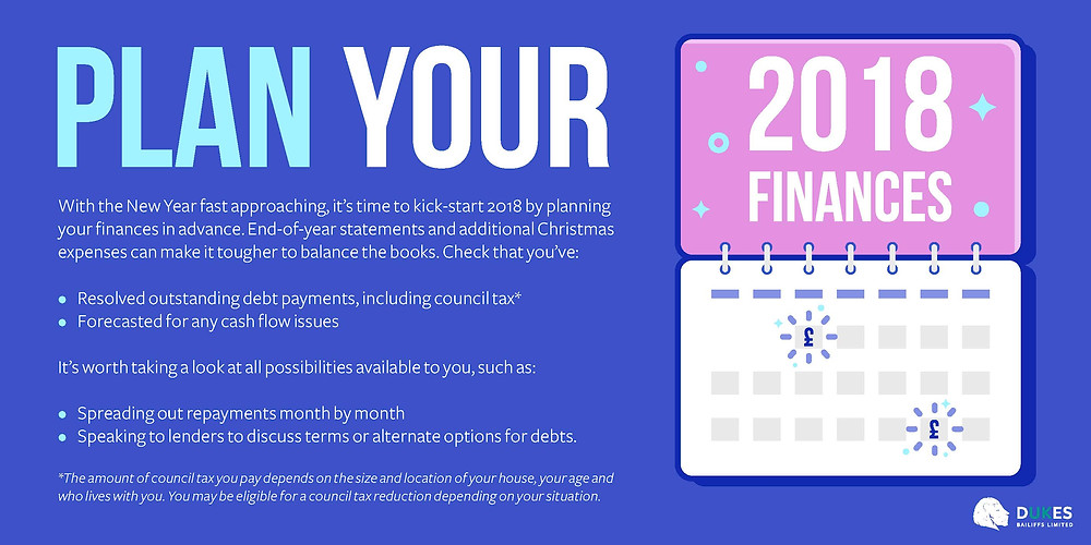 Debt Management - Plan your finances for the year ahead.