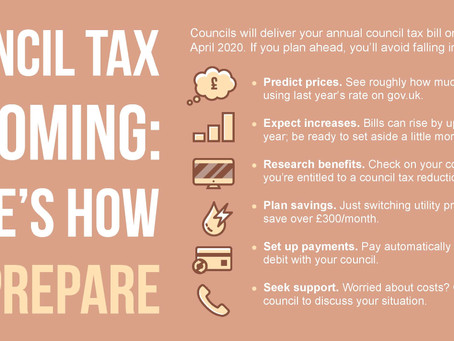 Your new Council Tax bill 2020-2021