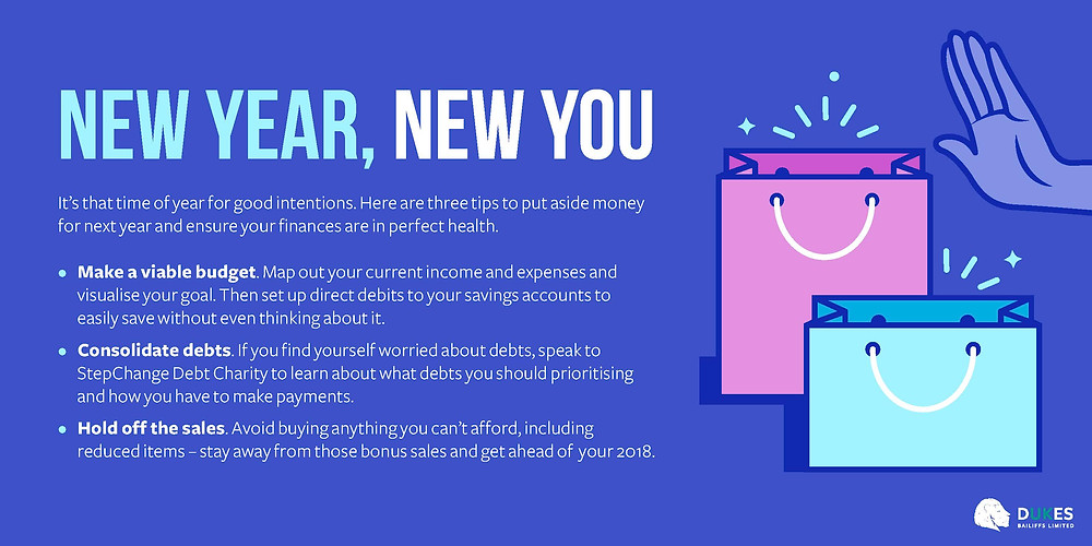 Debt Management - New year, new you. Resolutions to stay.