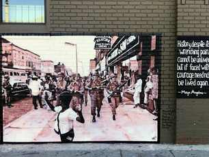a reflection on mural art