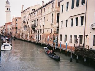 traveling italy: venice & rome