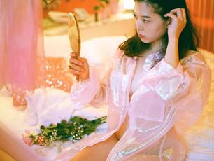 web zine: pink feminist by ayu watanabe