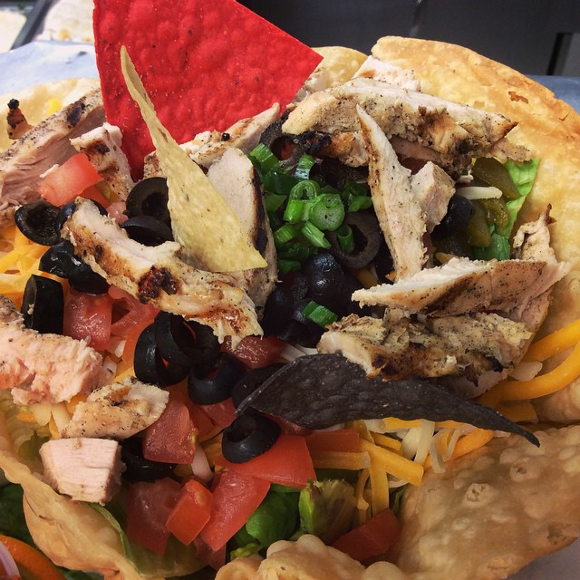 Northern New Mexican Chicken Salad #yummy #food #hungry #dinner #eat #patio #salad #foodie #livefarm