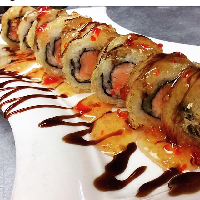 Wednesday 🍣 Sushi Special _Las Vegas Roll 9