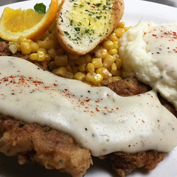 Did you say a chicken Fried Steak_!_ Yep Tuesday Special $11