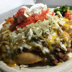 Sometimes you just need a Navajo Taco 😍 #lunch #eatlocal #clancysnm #foodie #food #dinner #family #
