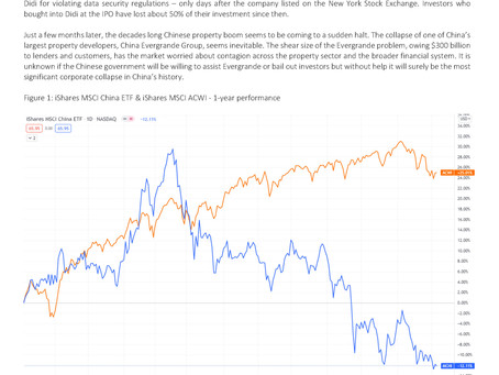 Monthly Commentary September 2021